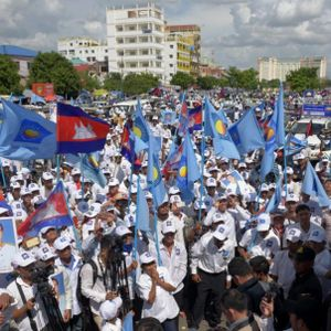 Dissent diminished in Cambodia
