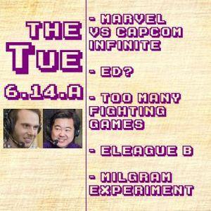 Tuesday 2017-04-25: MvCI, Ed?, So Many Games, ELEAGUE Groups B, Milgram Experiment, Etc. (6.14.A)