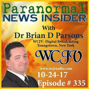 Paranormal News Insider with Dr. Brian Parsons #335