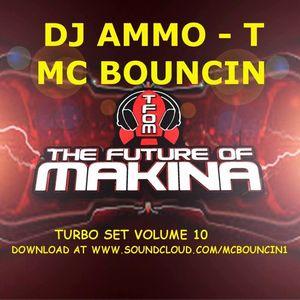 DJ AMMO T MC BOUNCIN TURBO SESSION  RECORDED LIVE AT PIRATE STUDIO LIVERPOOL