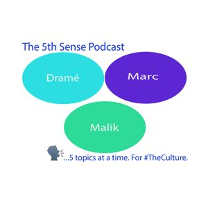 5th Sense Podcast EP. 21 (Top 5 Cartoons Part 2)