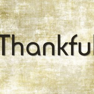 Thankful in the Journey