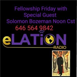 Fellowship Friday with Special Guest Solomon Bozeman