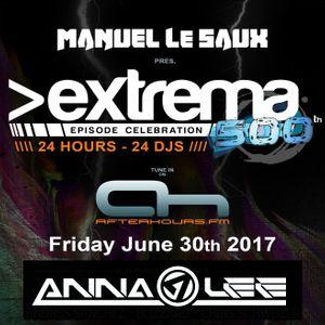 Anna Lee - Extrema 500th Episode Celebration on AH.FM (30-06-2017 )