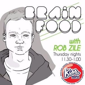Brain Food with Rob Zile/KissFM/16-03-17/#3 TONY DEE (GUEST MIX)
