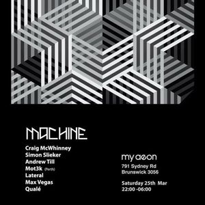 Quale @ Machine (upstairs) - My Aeon  - March 2017