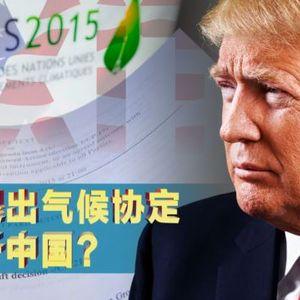 焦点对话:美国退出气候协定,有利中国? - 6月 09, 2017