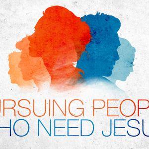 Pursuing People Who Need Jesus, Todd Wright