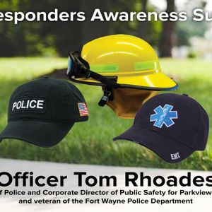 First Responders Sunday: Officer Tom Rhoades (Audio)