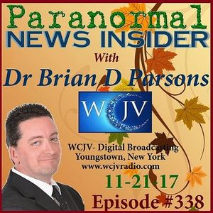 Paranormal News Insider with Dr. Brian D. Parsons