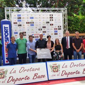 Presentación de la III Feria del Deporte  INFINITY LA OROTAVA.19 de Septiembre