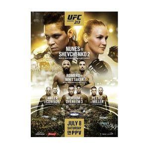 411 Ground and Pound Radio Show: UFC 213 Review