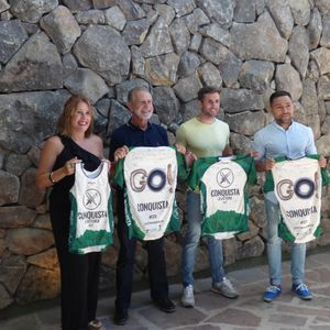 Presentación de la prueba deportiva de obstáculos ' Conquista La Victoria '. 28 de junio