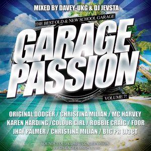 Garage Passion Volume 7 Mixed By Davey UKG & DJ Jevsta FREE DL !!