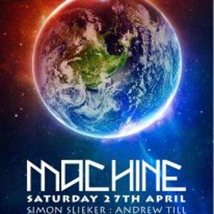 Qualé@ Machine 27th April 2013 warm Up set