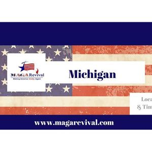 MAGA Revival – 50 Dayz a Blaze Prayer for State of Michigan