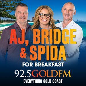 AJ, Bridge and Spida 21st September