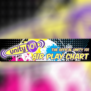 Unity 101 Airplay Chart - 16 Oct 2017