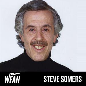 Steve Somers with Geoff Schwartz
