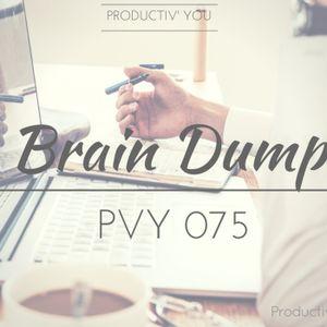 PVY075 - Brain Dump