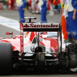 The Case Of Right Rear Pirelli Tyre