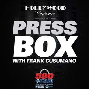 The Press Box – Seg 5:  Carson Kelly