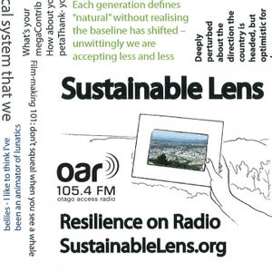 Sustainable Lens - Resilience On Radio - 29-06-2017 - Rebecca Stewart