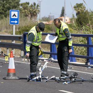 """Andrés Contreras, ciclista arrollado en Oliva: """"Mi padre murió atropellado por una conductora drogad"""
