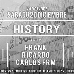 History 20 - 12 - 14 @ Teatro Las Esquinas - Frank - Ricardo - Carlos Frm