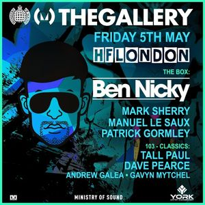 Mark Sherry LIVE @ The Gallery (Ministry Of Sound, London) 05.05.17