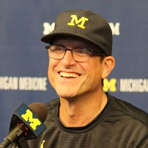 2017 Michigan Football Coach Jim Harbaugh Michigan 29 Air Force 13 Postgame 9-16-2017 Podcast