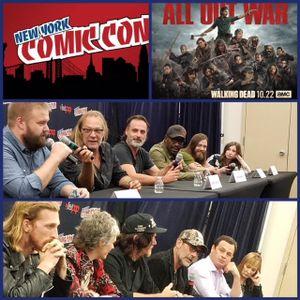 Episode 810 - NYCC: The Walking Dead w/ Robert Kirkman/Greg Nicotero/Andrew Lincoln/Lennie James/Tom