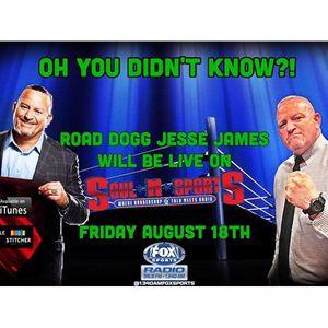 Fox Sports:SoulNSports #LockItUp SummerSlam show w/ Road Dogg Jesse James