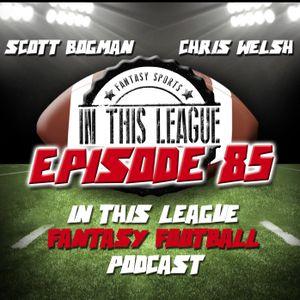 Episode 85 - Mock Draft 1.0 - 12 Man Dynasty Mock