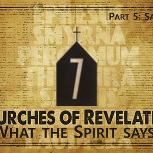 What The Spirit Says... Part Five