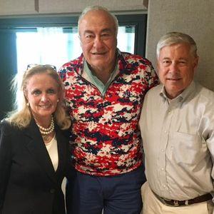 Fred Upton - Congressman R-St. Joseph and Debbie Dingell - Congresswoman D- Dearborn talk politics w