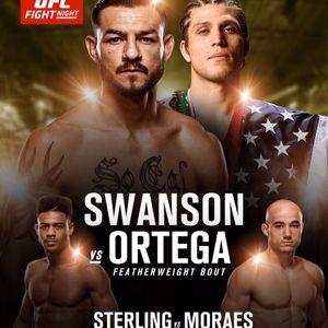 #194: UFC Fresno: Swanson vs Ortega Edition of #HalfTheBattle