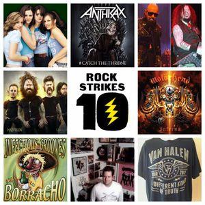 PodCrash! Rock Strikes 10 - MUSIC HEAVY