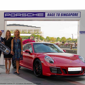 Porsche Race to Singapore Podium Podcast with No.1 Simona Halep