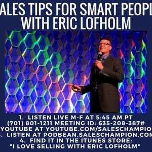 01.08.2018 - Eric's #1 Idea of ALL Time!