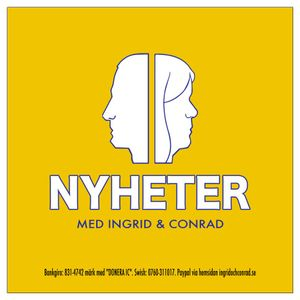 Nyheter med Ingrid, Conrad och Christoffer - 170609