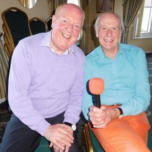 John Hannam Meets Jimmy Cricket