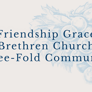 Three-Fold Communion April 9, 2017