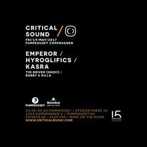 Hyroglifics - Critical Sound Copenhagen Promo Mix