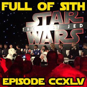 Episode CCXLV: The Last Jedi Press Conference