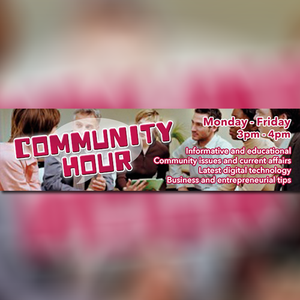 Community Hour - 1st Tuesday of Every Month - 3pm to 4pm - 5 Sep 2017