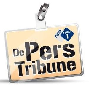 Gregory Sedoc op De Perstribune