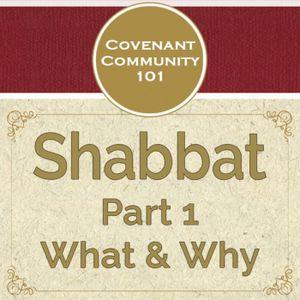 Covenant Community 101: Shabbat - Part 1 - What & Why