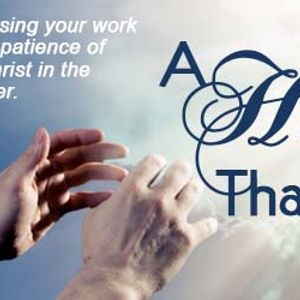 1 Thessalonians 1:1-3   –   A Hope That is Real