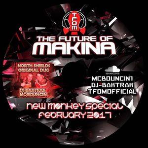 DJ Baktrak MC Bouncin New Monkey Set febuary 2017